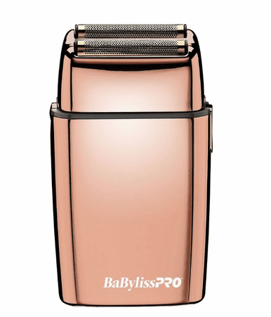 Double Foil Rose Gold Shaver