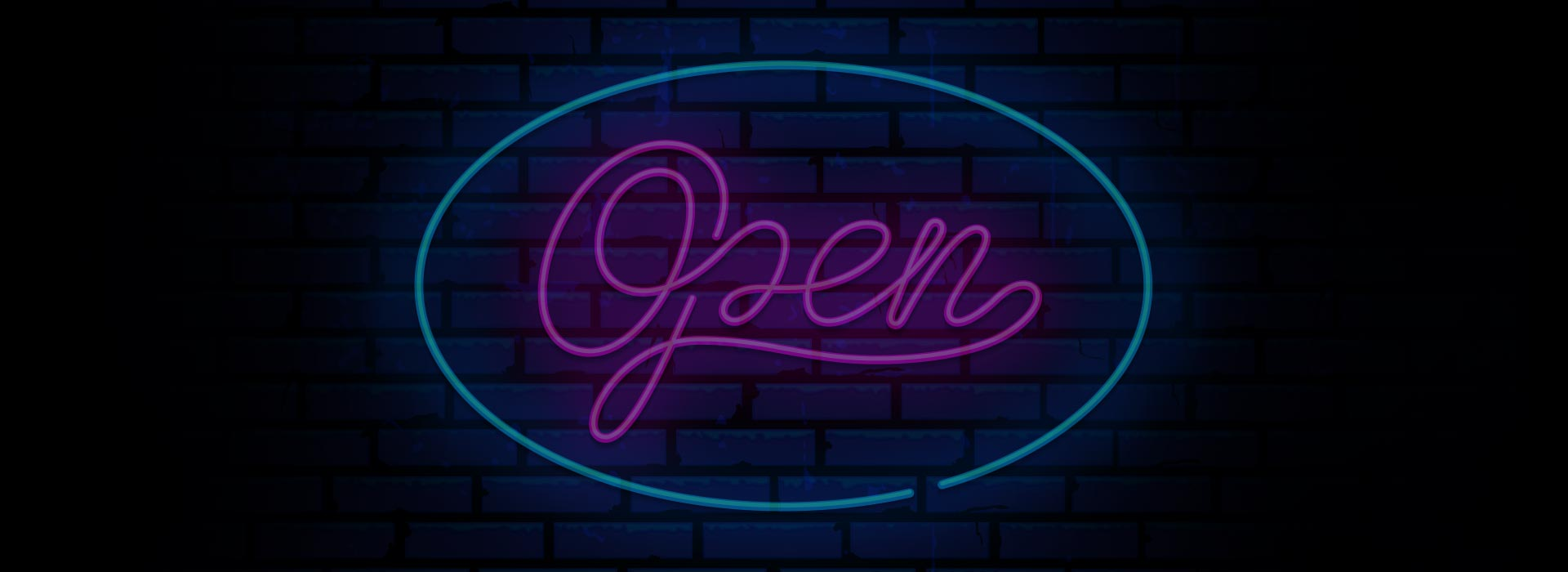 WE ARE OPEN!/NOT OPEN